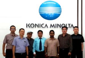 PT Almega Sejahtera Ukur Warna Konica Minolta Sensing Training